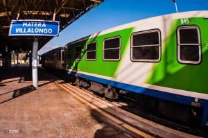 treno nuovo a villa longo