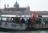 venezia proteste lavoratori turismo senza contratti
