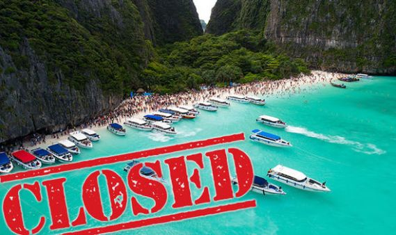 Maya-Bay-The-Beach-closed